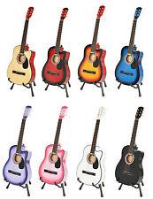 Akustik Western Gitarre Westerngitarre +Tasche +Zubehörset + Stimmgerät 8 Farben