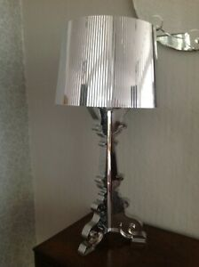 Kartell Bourgie Table Lamp, Silver