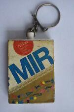 Porte-clé clef motif : poudre à lessiver MIR