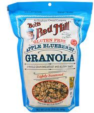 NEW BOB'S RED MILL GLUTEN FREE GRANOLA APPLE BLUEBERRY WHEAT FREE FIBER HEALTHY