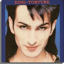 """King - Torture + Groovin' With The Kings - 1985 UK CBS 7"""" 45 RPM Single! (face)"""