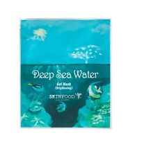 SkinFood Deep Sea Water Gel Mask 2 Sheets (Brightening) (USA Seller)
