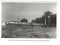 AK, Bad Sooden-Allendorf, Hessen, Bahngelände, Gleise, Lok: VT 11 5009, TEE 77