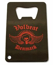 Volbeat Denmark Bottle Opener Flat Square Metal New Official Band Merch