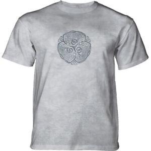Mountain Adult T-shirt Wolf Knot