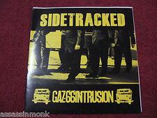 "SIDETRACKED GAZ 66 INTRUSION split 7"" RSR Records Crossed Out Black Flag"