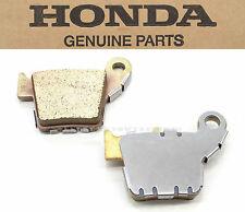 Honda Rear Brake Pad Pads CR CRF CR125 CR250 CRF150 CRF250 CRF450 R X OEM #W05