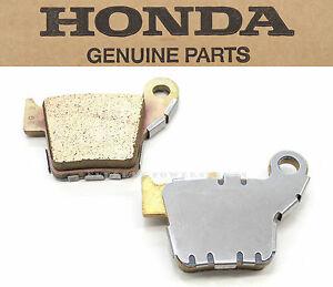 Honda Rear Brake Pad Pads CR CRF CR125 CR250 CRF150 CRF250 CRF450 R X RX RW #W05