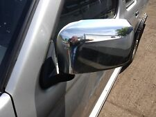 NISSAN NAVARA D22 N/S (PASSENGER) ELECTRIC DOOR MIRROR IN CHROME 2002 TO 2005