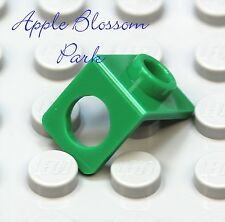 NEW Lego GREEN MINIFIG NECK BRACKET - Package Holder Back Plate w/Stud-Knob