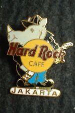 HRC Hard Rock Cafe Jakarta Rhino playing Guitar