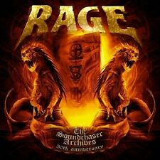 RAGE - THE SOUNDCHASER ARCHIVES BOXSET 4 VINYL LP NEU