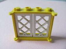 LEGO 3853 @@ Window 1 x 4 x 3 - Yellow 6267 6274 6285 10040