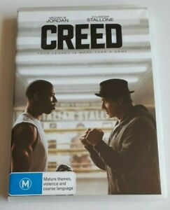 Creed - Sylvester Stallone   - PAL DVD Region 4