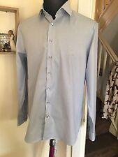 Calvin Klein 16.5 Collar XL Adult Collared Long Sleeve Shirt