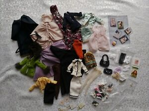 Silkstone Barbie Doll LOT OF Clothing , Shoes , accessories ....