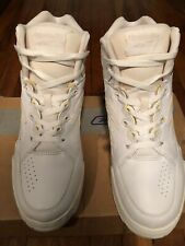 White And Natural Reebok Sneakers