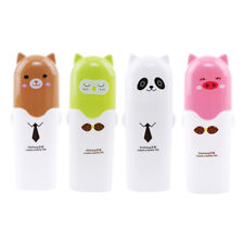 Cute Cartoon Portable Toothbrush Holder Tooth Mug Toothpaste Cup Bath Travel WE