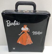 Valise plastique Barbie Midge Carry Case - Mattel France - 1960's - BE+