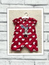Baby Girls Clothes 0-3 Months - Disney Minnie Romper Outfit