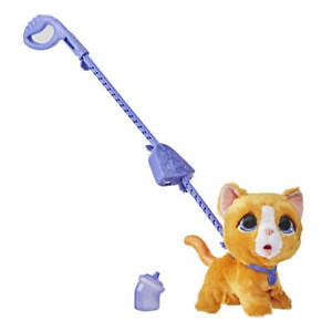 Hasbro E89495X2 FurReal Friends Peealots Große Racker Katze
