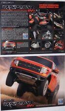 Lot of 2  2010 10 Ford F150 Raptor SVT brochures MINT