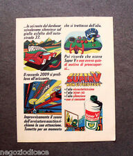 O631 - Advertising Pubblicità -1969- SUPER V VISCO STATIC , BP