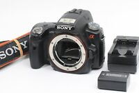 VeryGood SONY A55 alpha 35mm Film SLR 16.2MP Body Only A-mount JAPAN 210081