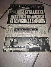 rivista castellotti ASCARI FERRARI MILLE MIGLIA 1956
