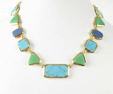 NWT Lauren Ralph Lauren Semi-Precious Multi Stone Collar Necklace $98
