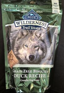 Blue Buffalo Wilderness Trail Treats High Protein Grain Free Crunchy Dog Treats