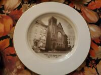 VINTAGE DECORATIVE PLATE 100th anniversary reformed church jersey city nj
