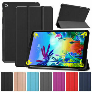 US For LG G Pad 5 10.1 FHD 4G 2019 Tablet U.S. Cellular Slim Leather Case Cover