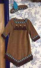 112b473f4b25 Old Navy 3T Felt Fleece Warm Pocahontas Indian Native American Costume  Adorable