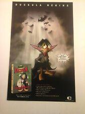 COUNT DUCKULA  - 2005 DVD / TV Promo Print Ad (Mini Poster)