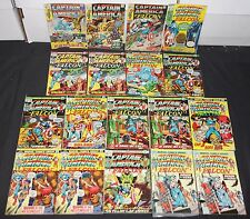 Vintage Marvel Bronze Age Captain America 18pc Comic Lot 2.5-5.0 Avengers