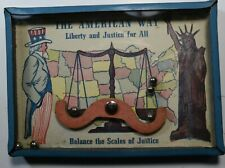 Dexterity Puzzle Skill Game The American Way Balance of Justice