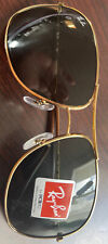 Ray-Ban RB 3267 Aviator Sunglasses Gold Green Lens Without Case/Accessories