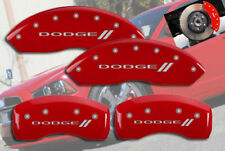"2001-2006 ""Dodge //"" Stratus Front + Rear Red MGP Brake Disc Caliper Covers 4pc"