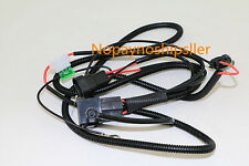 9005 HB3 9006 HB4 Xenon HID Conversion Kit Relay Wiring Harness For Headlights