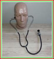 Vintage Stethoscope Old Medical Device Doctor~metal,Tubes,bakelite #151220