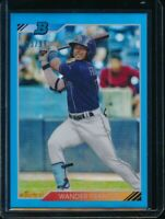 WANDER FRANCO 2020 Bowman Heritage Chrome BLUE REFRACTOR #/99 Rookie Card RC