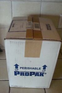 🎈 Perishable PROPAK Insulated SHIPPING Box Perishable Storage Cooler Styrofoam