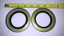 """(2) Trailer Hub Grease Seals 6k 7k axle, 2.125"""" I.D. 3.376"""" O.D. 10-10"""