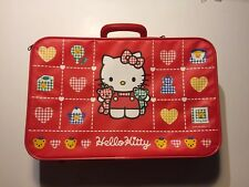 Rare Sanrio Original Classic Hello Kitty vintage suitcase travel carry-on 1984