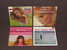 GUNTER KALLMANN CHORUS 4 LP RECORD ALBUMS LOT COLLECTION Live For Life/Lara/With