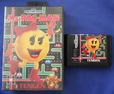 Ms. Pac-Man Sega Genesis Video Game Tengen 1982