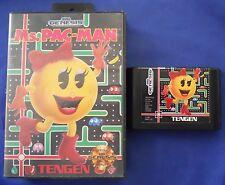 Ms. Pac-Man Sega Genesis Video Game Tengen 1982