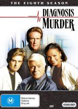 DIAGNOSIS MURDER - SEASON 8   - DVD - UK Compatible -  sealed