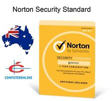 Norton Security Standard for Windows, Mac & Android - 1 Device 1 Year (No Disc)